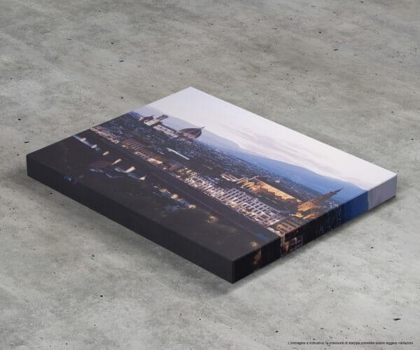Fotografia di Firenze stampata su canvas con Telaio Fotografo Prato Lorenzo Emme vendita fotografie
